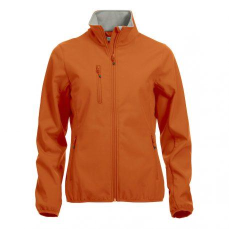 basic softshell oranje